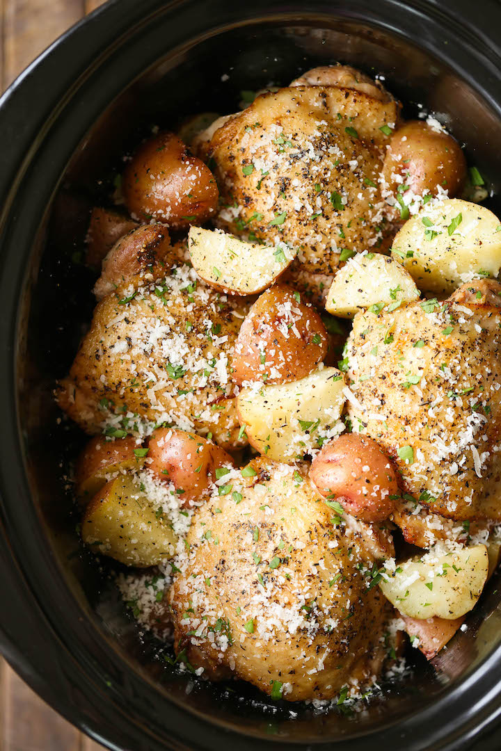 Pressure Cooker Frozen Chicken And Potatoes