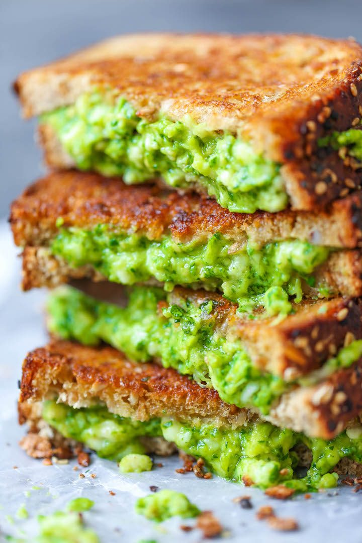 Avocado Grilled Cheese Damn Delicious