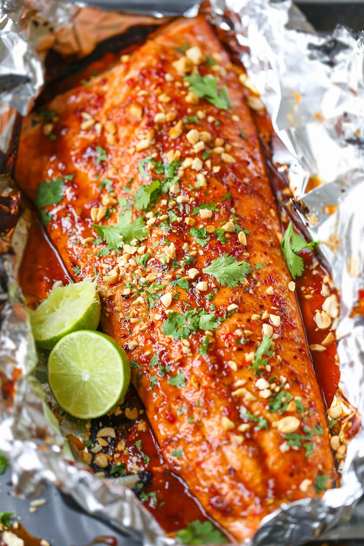 Thai salmon in foil damn delicious forumfinder Choice Image