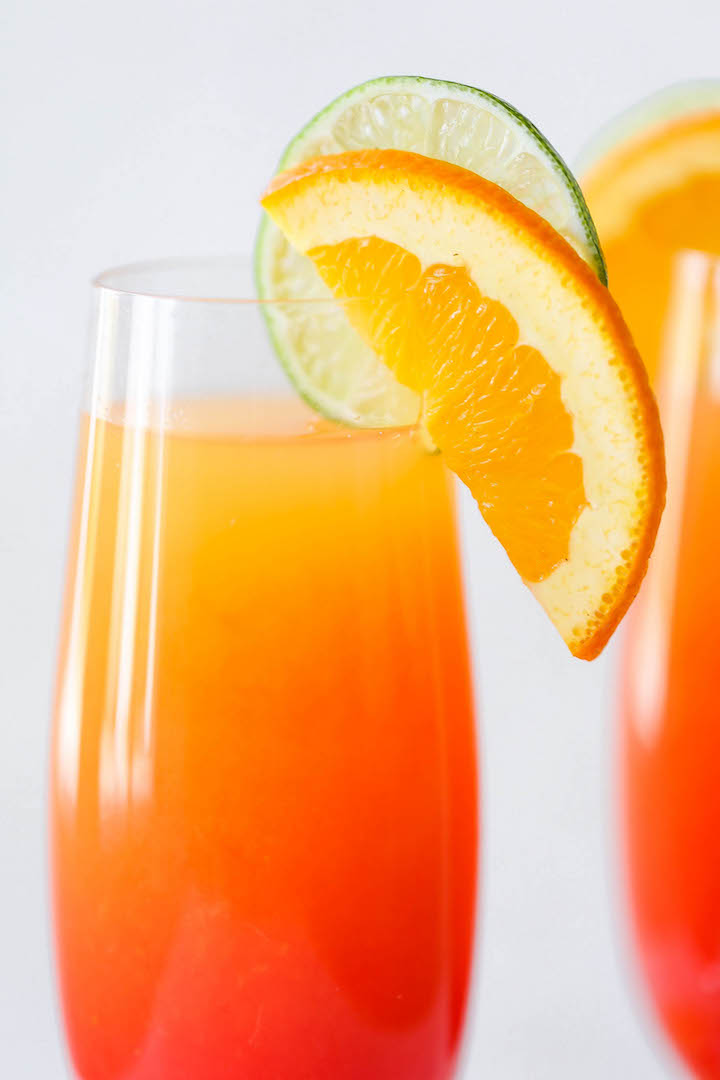 How to make tequila sunrise with pineapple juice