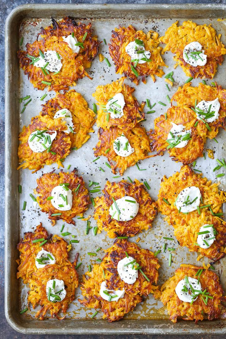 Butternut Squash Fritters Damn Delicious