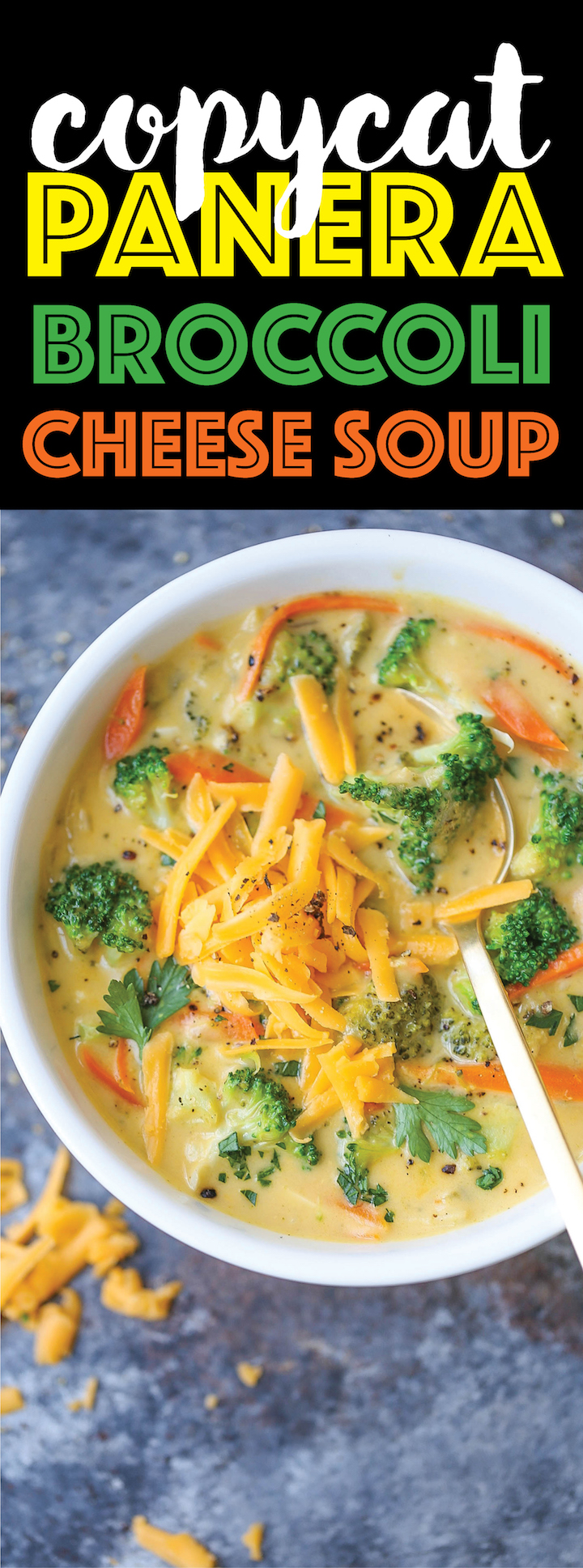 Copycat Panera Broccoli Cheese Soup - Now you can make everyone's favorite broccoli cheese soup right at home - so thick and creamy. It's unbelievably good!