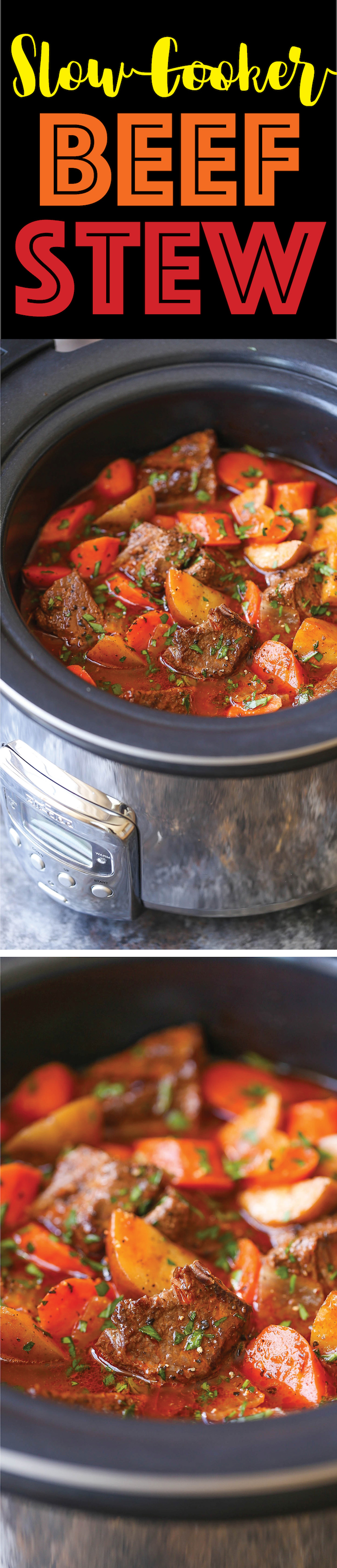 Slow Cooker Beef Stew Damn Delicious