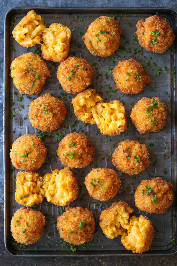 Fried Mac And Cheese Balls Damn Delicious
