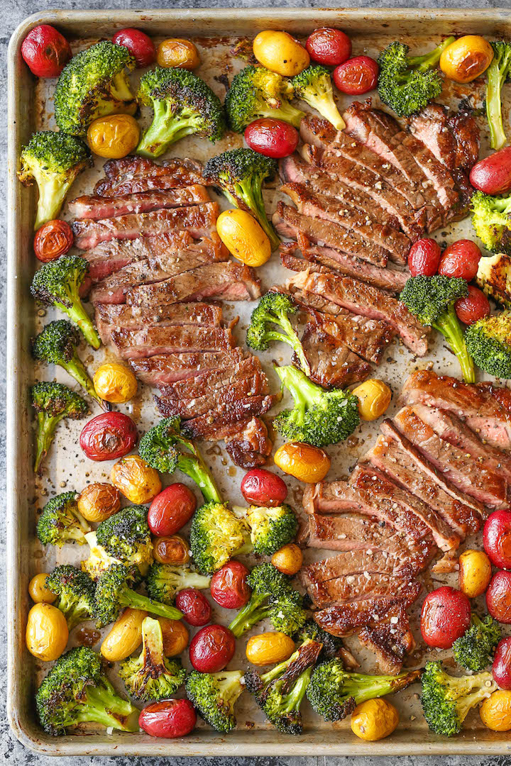 Sheet pan steak and veggies damn delicious forumfinder Choice Image