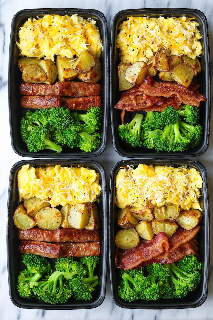 Breakfast Meal Prep Damn Delicious