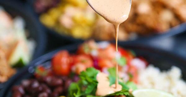 Chicken Burrito Bowl Meal Prep Damn Delicious