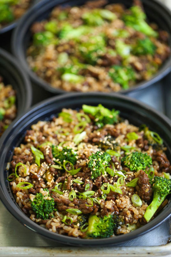Quick Beef and Broccoli Meal Prep