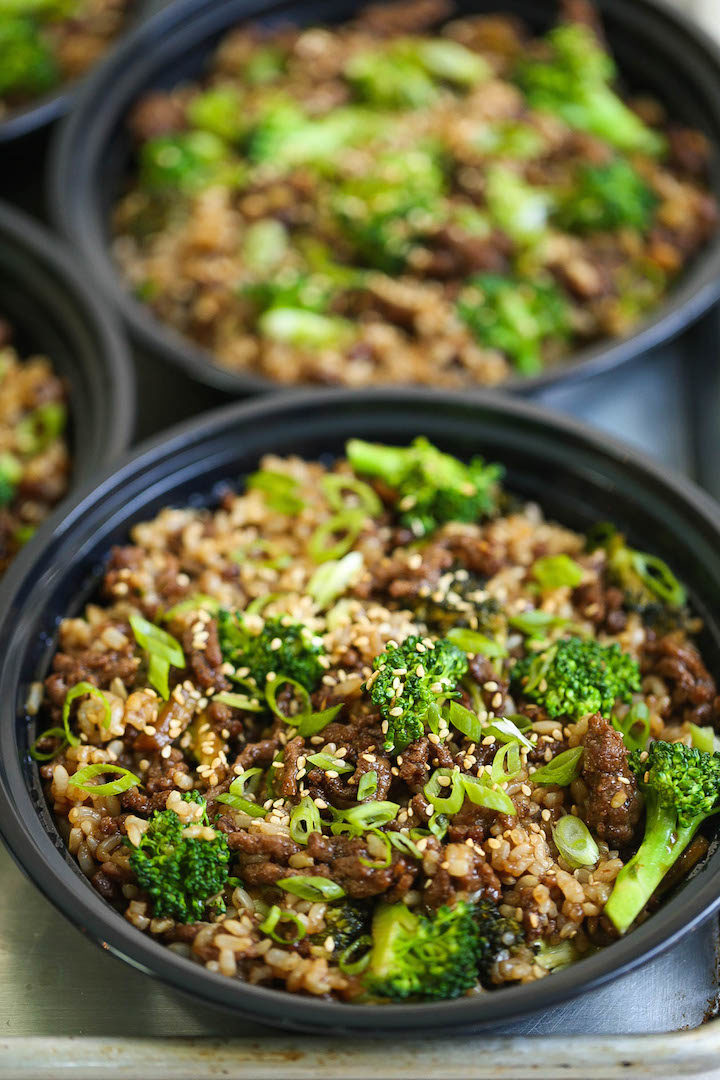 Quick Beef And Broccoli Meal Prep Damn Delicious