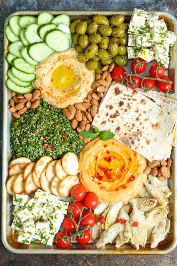 The Perfect Easy Mezze Platter