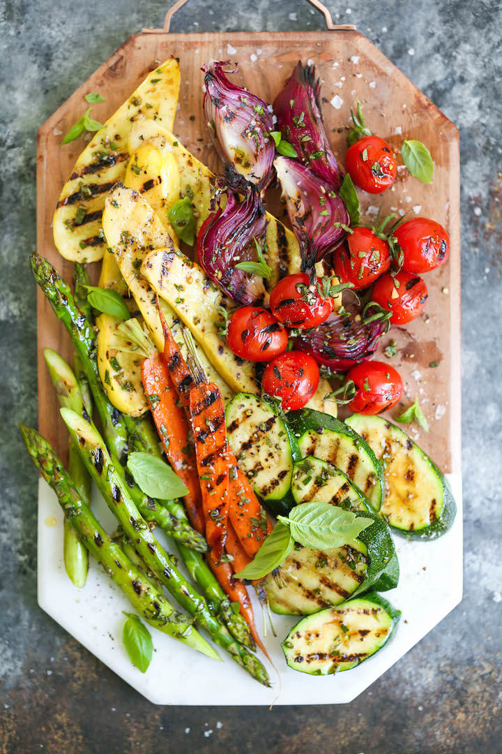 Grilled Vegetable Platter Damn Delicious