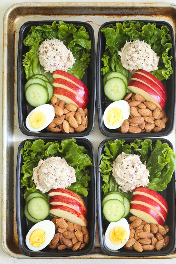 Tuna Salad Meal Prep Damn Delicious