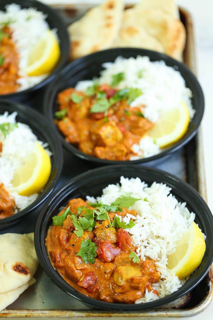 Chicken Tikka Masala Meal Prep Damn Delicious