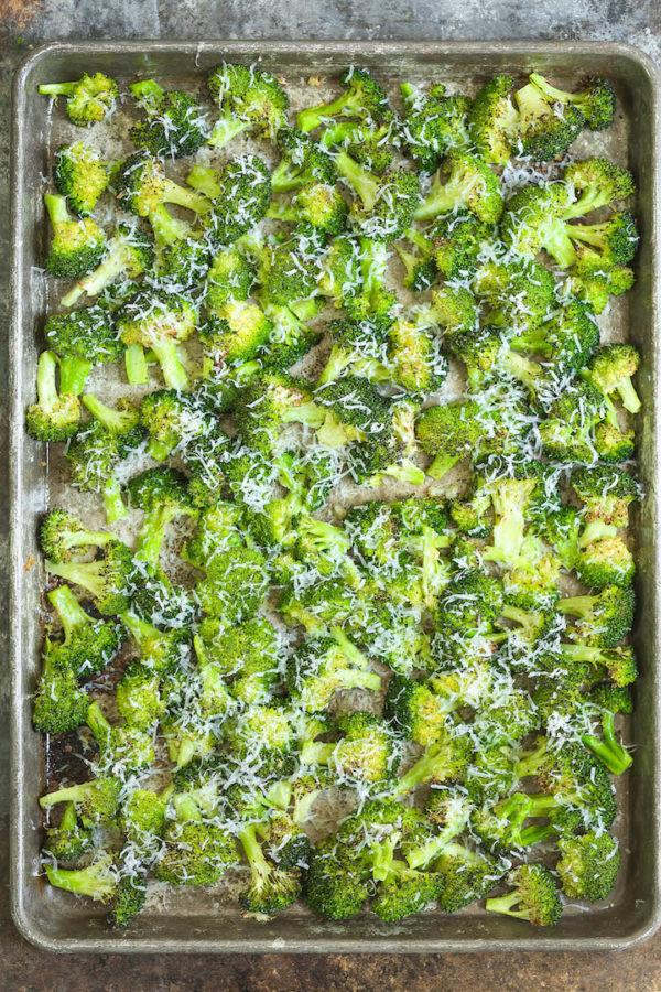 Sheet Pan Roasted Broccoli Damn Delicious
