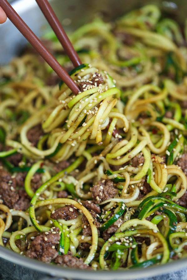 Zucchini recipes noodles