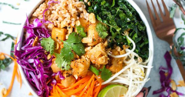 Thai Chicken Buddha Bowls