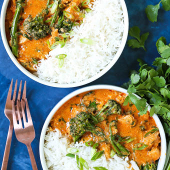Easy thai red curry damn delicious easy thai red curry forumfinder Image collections