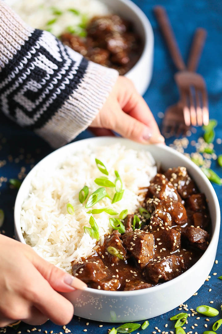 Instant Pot Korean Beef Damn Delicious
