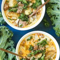 Instant Pot Olive Garden Zuppa Toscana Copycat