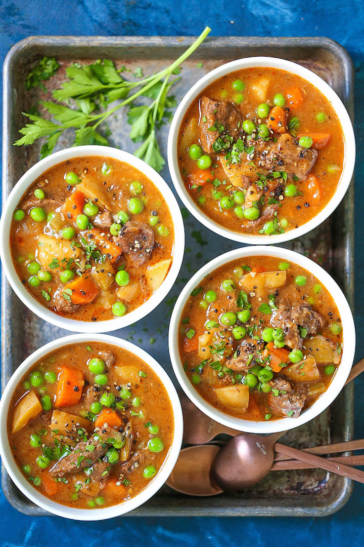 Instant Pot Beef Stew Damn Delicious