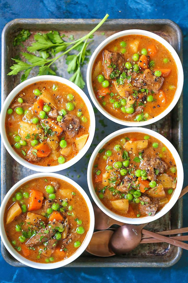 Instant Pot Beef Stew Damn Delicious