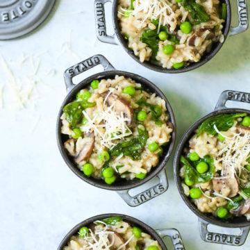 slimming ciuperci risotto)