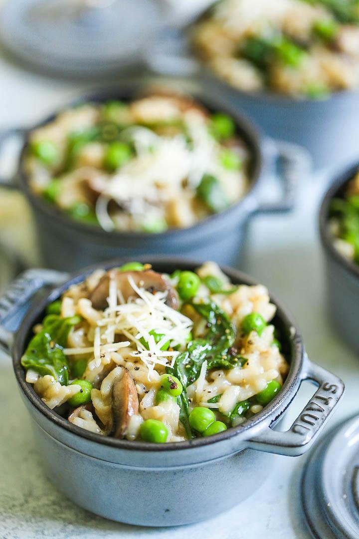 Rețetă de risotto de ciuperci