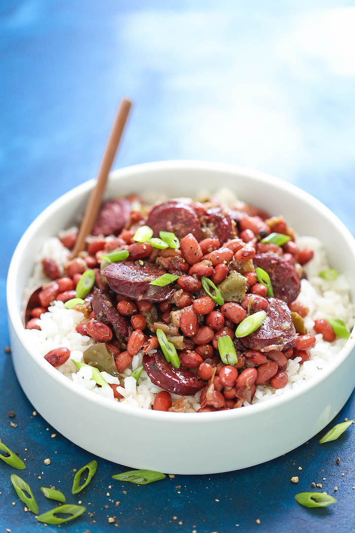 Instant Pot Red Beans And Rice Damn Delicious