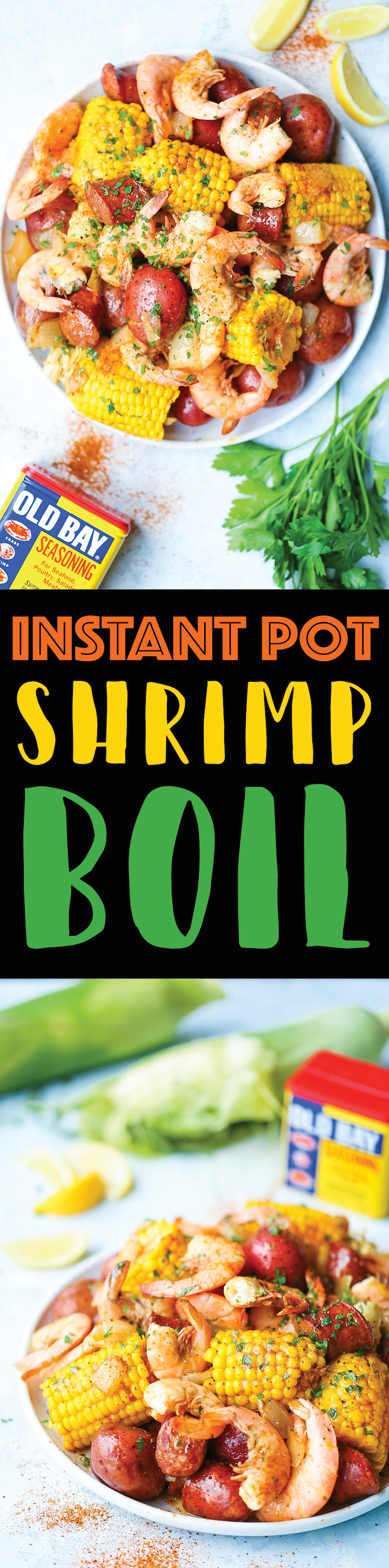 Instant Pot Shrimp Boil