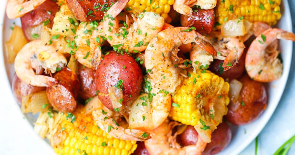 crab seafood boil with eggs