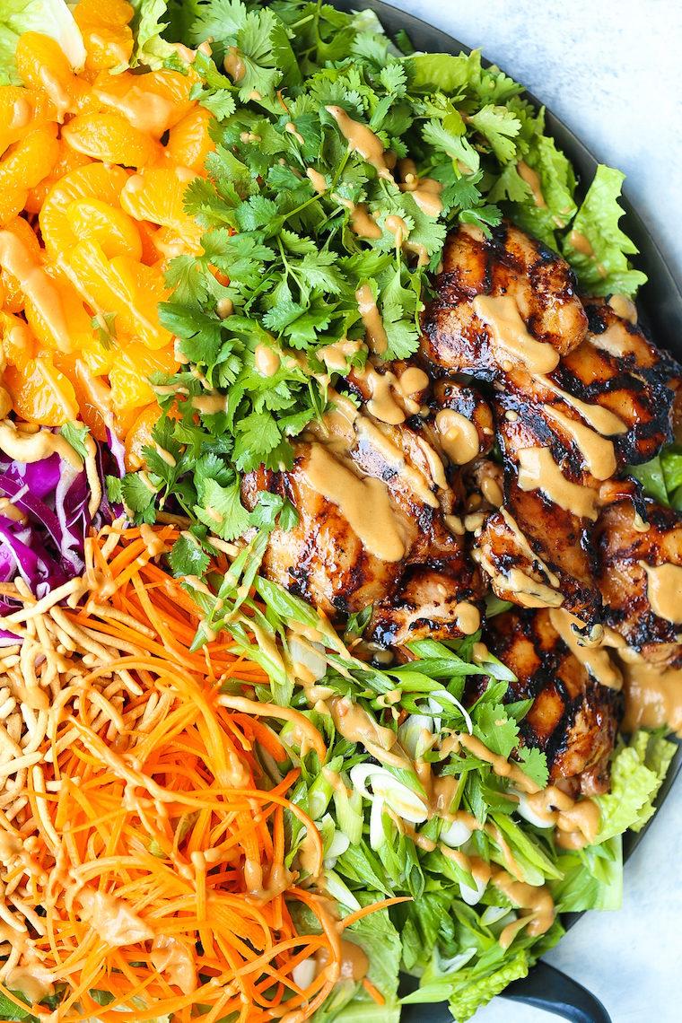 Asian Chicken Salad Damn Delicious