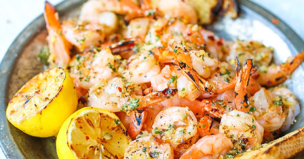 Grilled Garlic Butter Shrimp Damn Delicious,Thin Chicken Breast Recipes Healthy