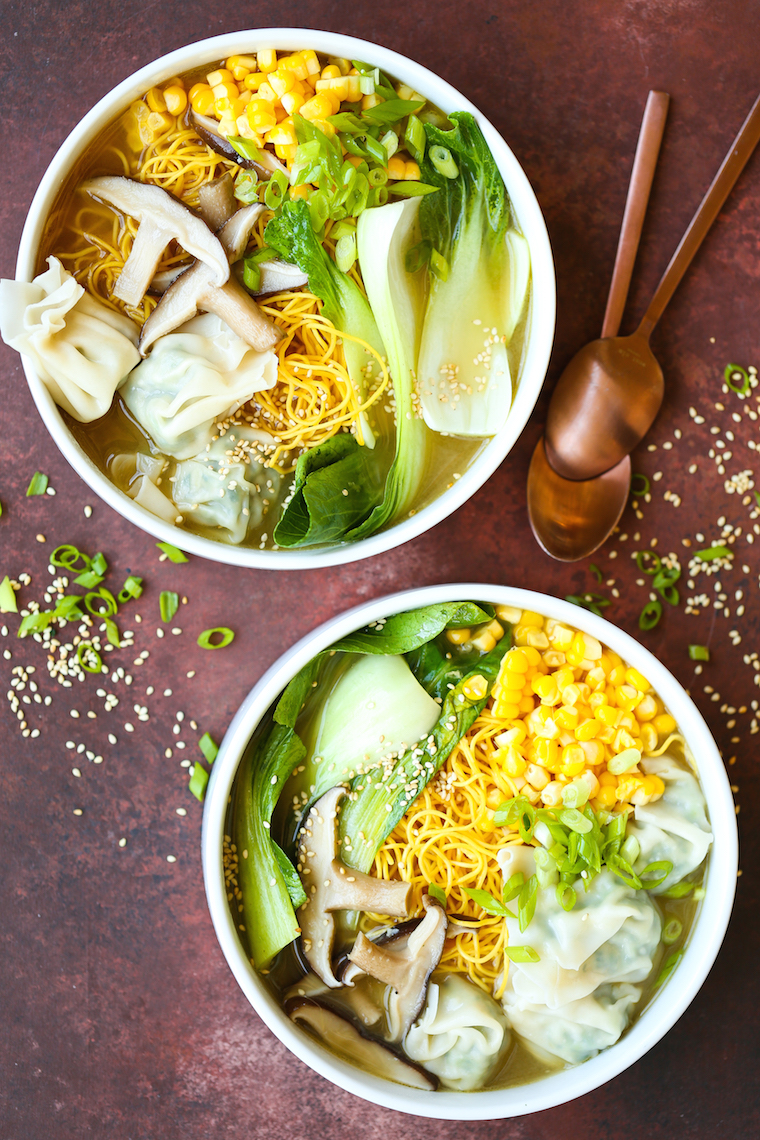 9cefe316ab50e Wonton Noodle Soup - Yes, you can now make your favorite takeout noodle  soup at