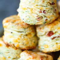 Black Pepper Cheddar Bacon Biscuits