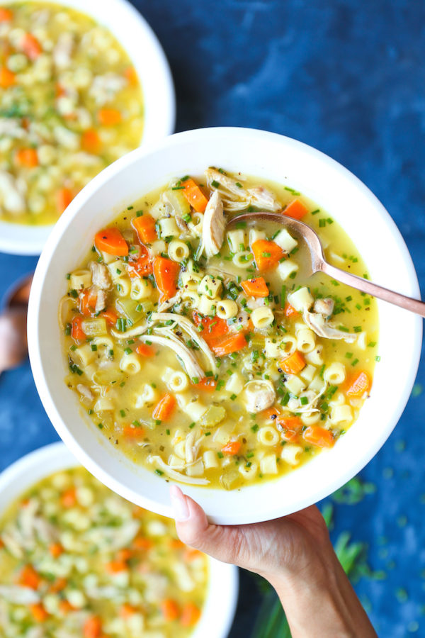 Cold Fighting Chicken Noodle Soup Damn Delicious