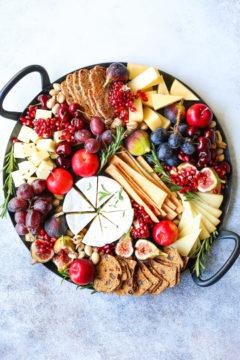 Holiday Cheese Board