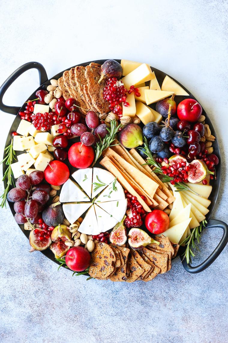 Holiday Cheese Board Damn Delicious