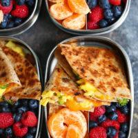 Ham, Egg, and Cheese Breakfast Quesadillas