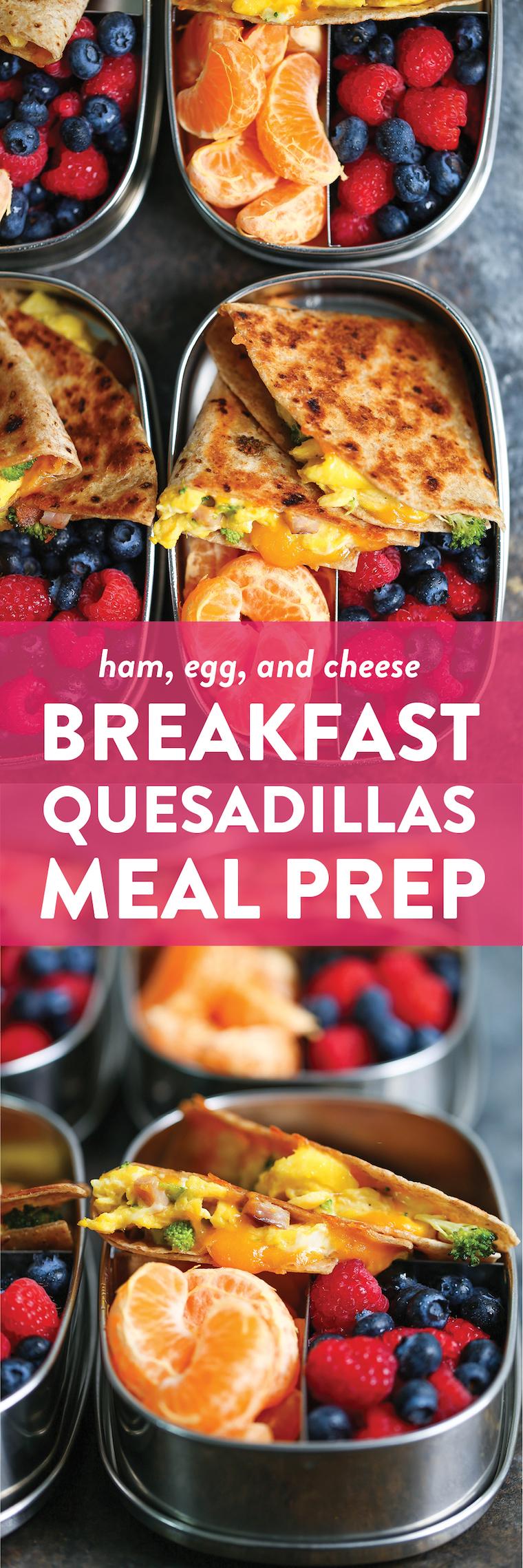 Breakfast Quesadillas Recipe