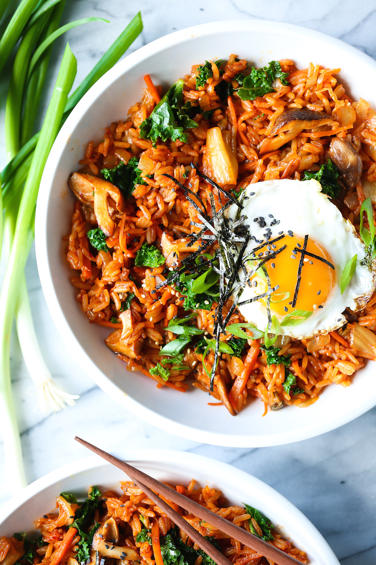Kimchi Fried Rice - Damn Delicious