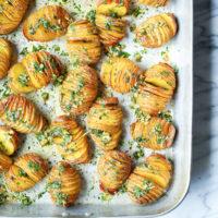Mini Hasselback Potatoes