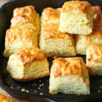 Skillet Buttermilk Biscuits