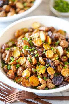 Crispy Roasted Herb Potatoes