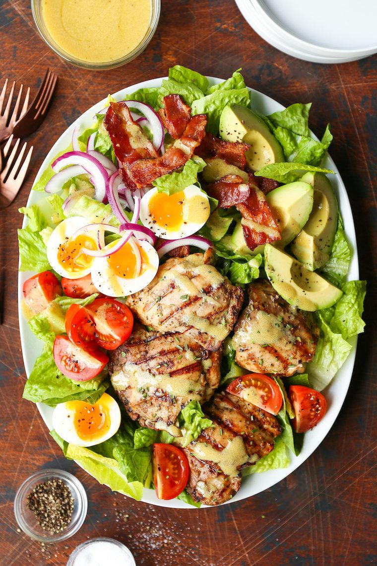 Grilled Chicken Cobb Salad Damn Delicious