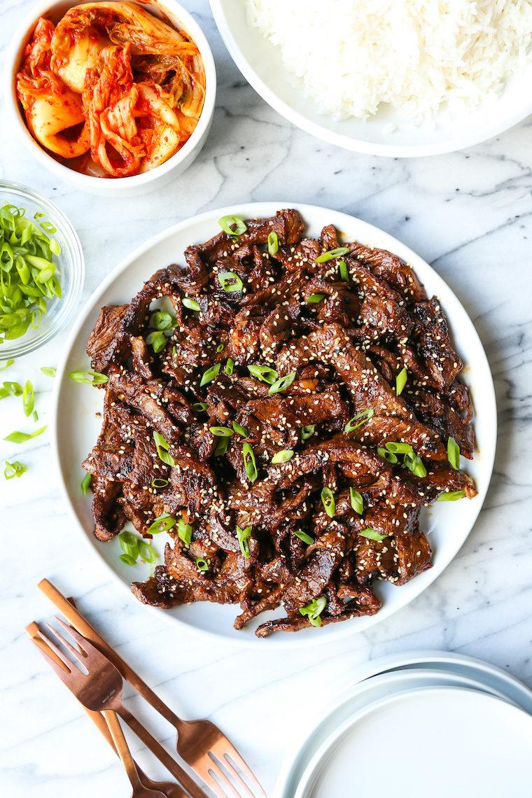 Korean Beef Bulgogi - Damn Delicious