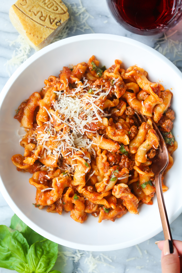 Instant Pot Ground Beef And Pasta Damn Delicious