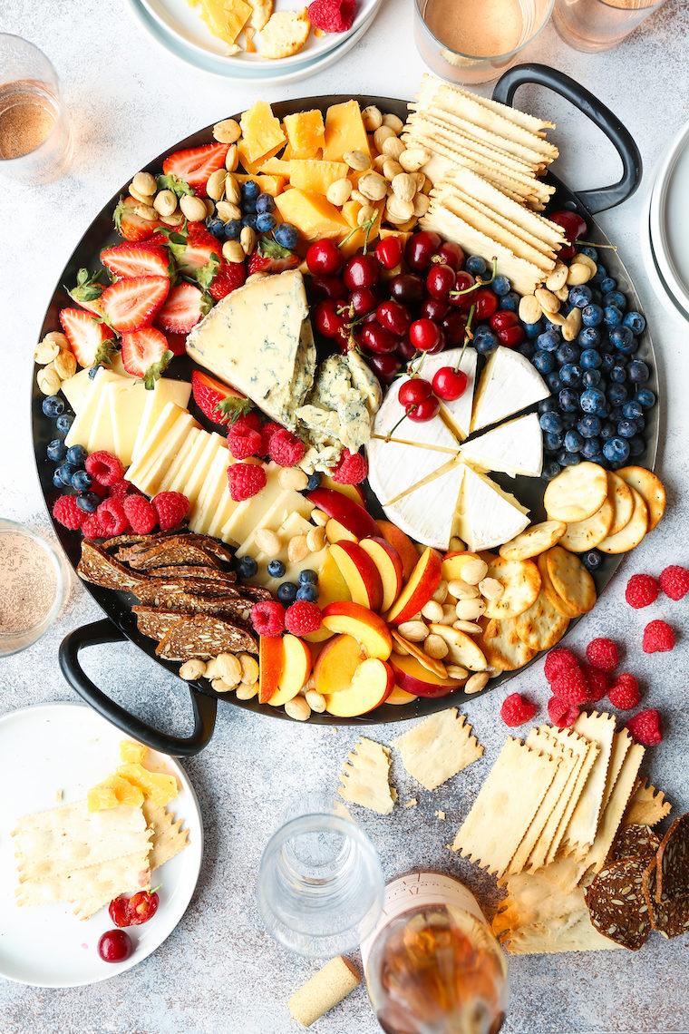 Summer Cheese Board Damn Delicious