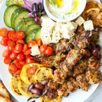 Greek Chicken Kabobs Recipe