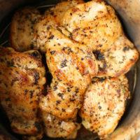 Instant Pot Lemon Chicken Thighs