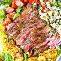 Grilled Steak Salad with Balsamic Vinaigrette